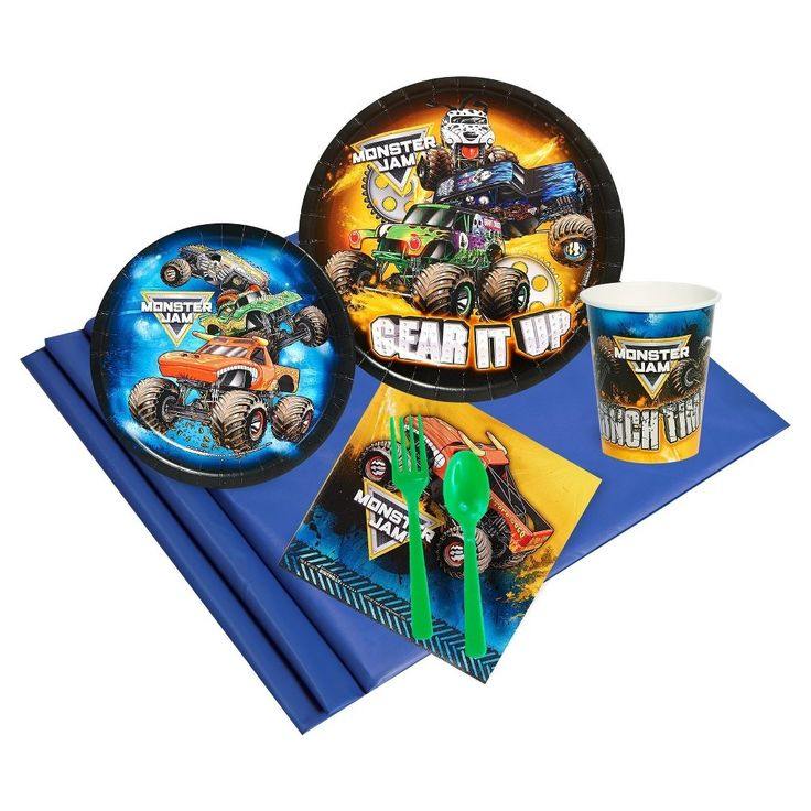 24ct Monster Jam Party Pk,