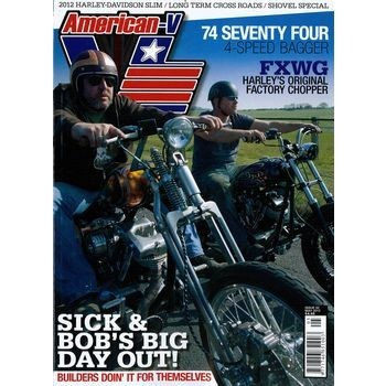 AMERICAN - V ist der einzige britische Titel, der sich mit legendären amerikanischen Motorrädern beschäftigt, mit der Geschichte amerikanischer Motorräder und deren Auswirkung auf das Leben einer reichen Vielfalt von Besitzern aus allen Schichten.