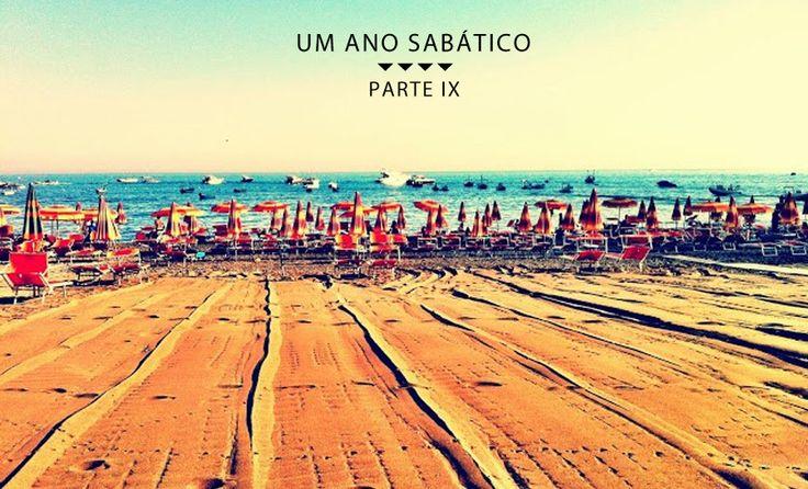 Meu Ano Sabático - Parte IX - La Spiaggia, a costa Amalfitana