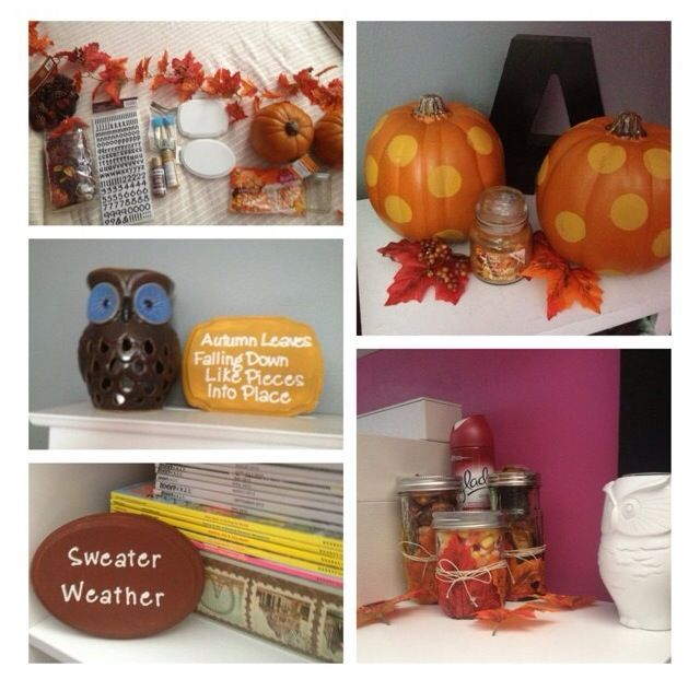 Easy Fall Room Decor Inspired From Macbarbie07 On Youtube