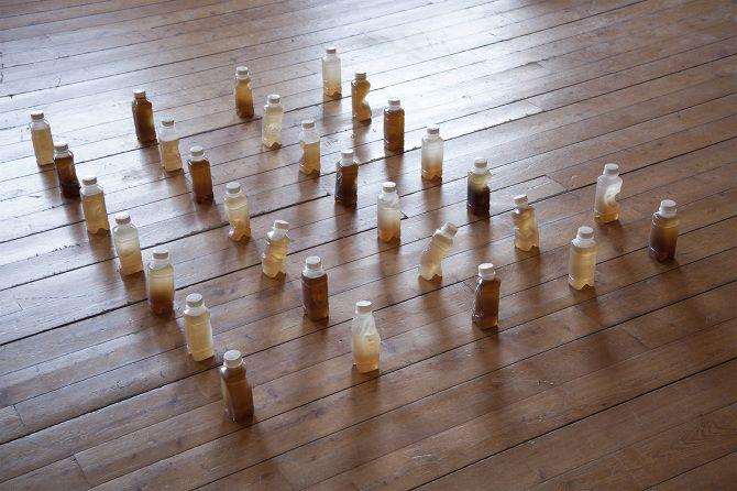 caterina Morigi 30 pasti installazione (2014)