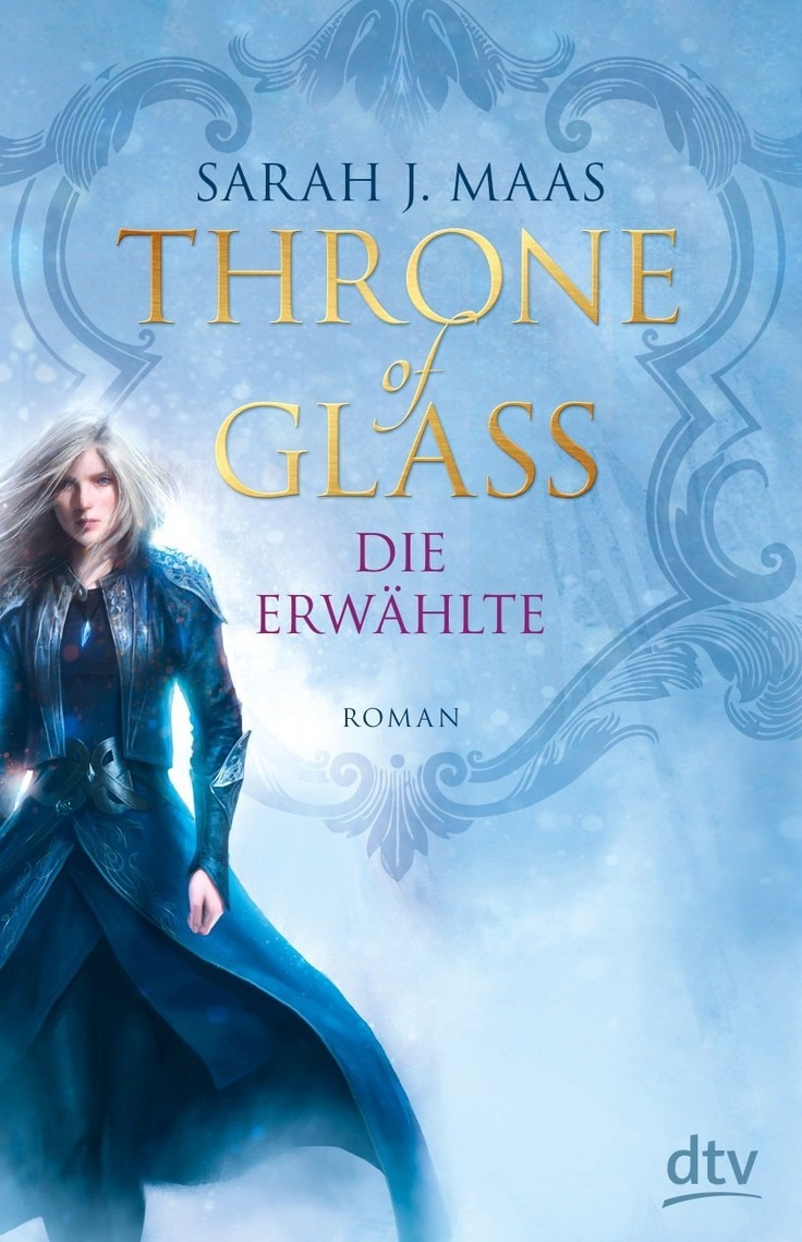 German Edition Of Throne Of Glass! Love It (and The Depiction Of Celaena!