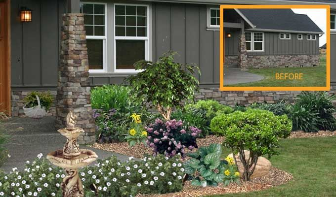 35 Best Craftsman Style Landscaping Images On Pinterest Dreams Diy Landscaping Ideas And Facades