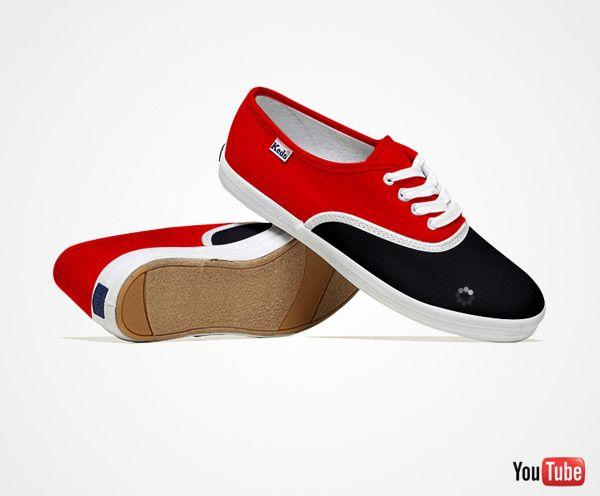 Video loading on my YouTube shoe :)