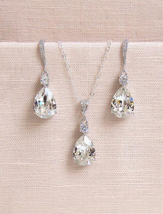 Brautschmuck swarovski kristallen  Die besten 25+ Swarovski Kristall Halskette Ideen nur auf ...