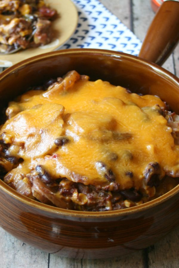cheesy-crockpot-cowboy-casserole