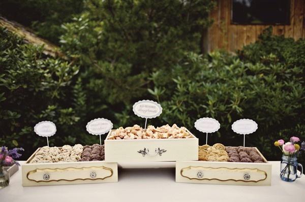 cookie bar, cute idea for dessert at wedding?