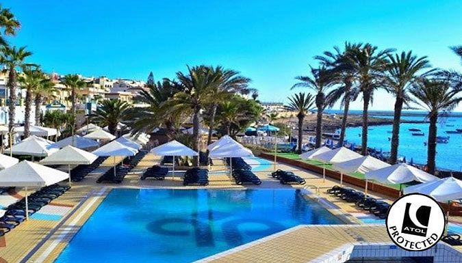UK Holidays: Qawra, Malta: 3-7 Night All-Inclusive 4* Hotel Stay With Flights - Up to 42% Off for just: £159.00 For twinkling blue waters, quaint villages and megalithic temples, discover Malta.      Live the island life with a 4* stay at the Hotel Soreda or the Qawra Palace Hotel      Stay on an all-inclusive basis, with all meals, snacks and drinks taken care off - bliss.      Hotels offers...