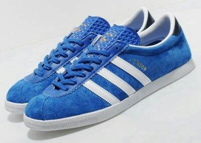 Adidas released the Mid Blue / white London's in 2012