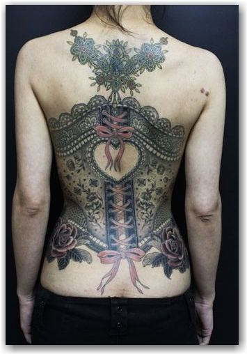 While I don't think I'd ever get something like this done, the sheer detail on this is amazing.