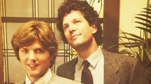 "Adam Scott and Paul Rudd recreating the ""Bosom Buddies"" intro? Were they finally able to attain the title of ""Greatest Event in TV History""? Cameos by Tom Hanks and Peter Scolari don't hurt."