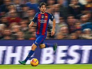 Team News: Sergi Roberto replaces Lucas Digne as Barcelona face Eibar