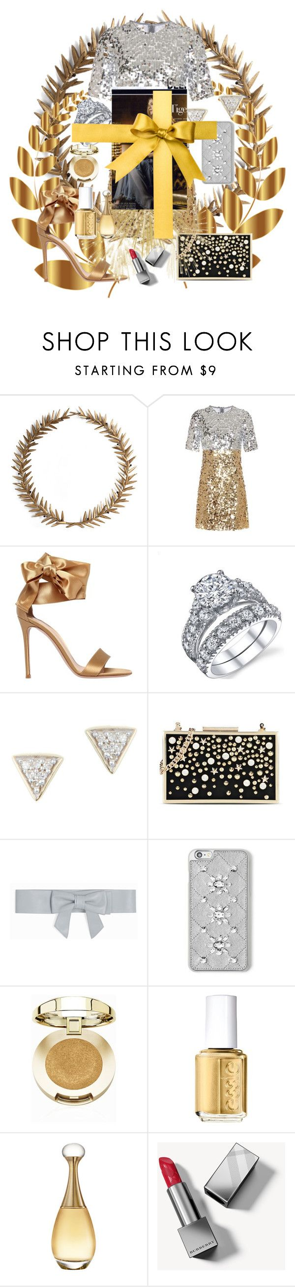 """""""Untitled #2774"""" by princhelle-mack ❤ liked on Polyvore featuring Bliss Studio, Laurel Wreath Collection, Dolce&Gabbana, Gianvito Rossi, Adina Reyter, Karl Lagerfeld, Paul & Joe, MICHAEL Michael Kors, Milani and Essie"""