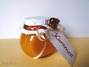karamellkrém mézből
