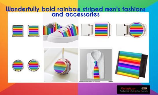 Boldly, striped rainbow colored stripes for fashion accessories, parties, home decoration, daycare, schools and office settings. Also for Pride Month usually held in June.
