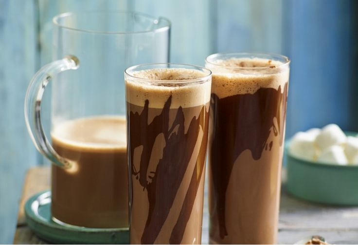 Cinnamon and cardomom take this hot chocolate from the everyday to the elegant