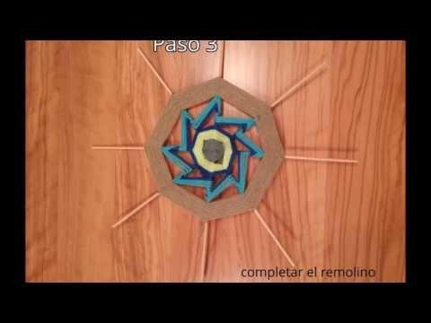 Tutorial Mandala Tejido , Nuevos Puntos! - YouTube