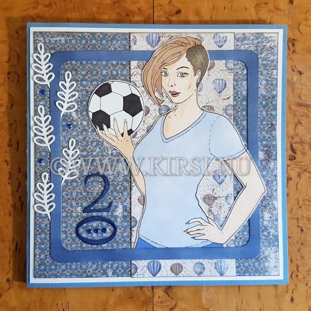 Kirsi: Malins fotbollskort - Malins Football card.Nytt år...