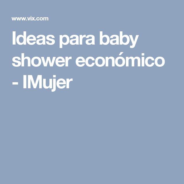 Ideas para baby shower económico - IMujer