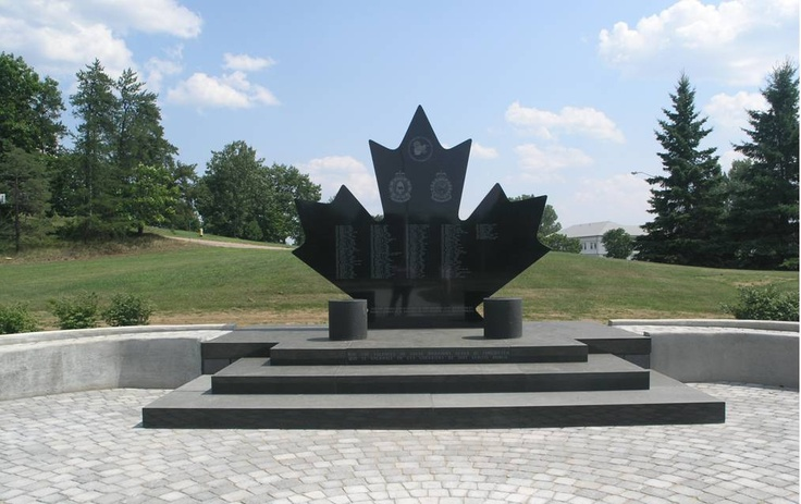 Petawawa Memorial, for the service and sacrifice of Canadian Soldiers