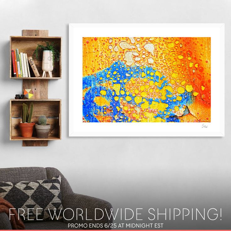 Make the most out of your weekend with free WORLDWIDE shipping on all my art!   > https://www.curioos.com/silviaganora/promo    #promo #freeshipping #wallart #homedecor #curioos #interior #contemporary #modern #prints #artprints #canvasprints #diskprints #summerdesign #abstract #contemporary