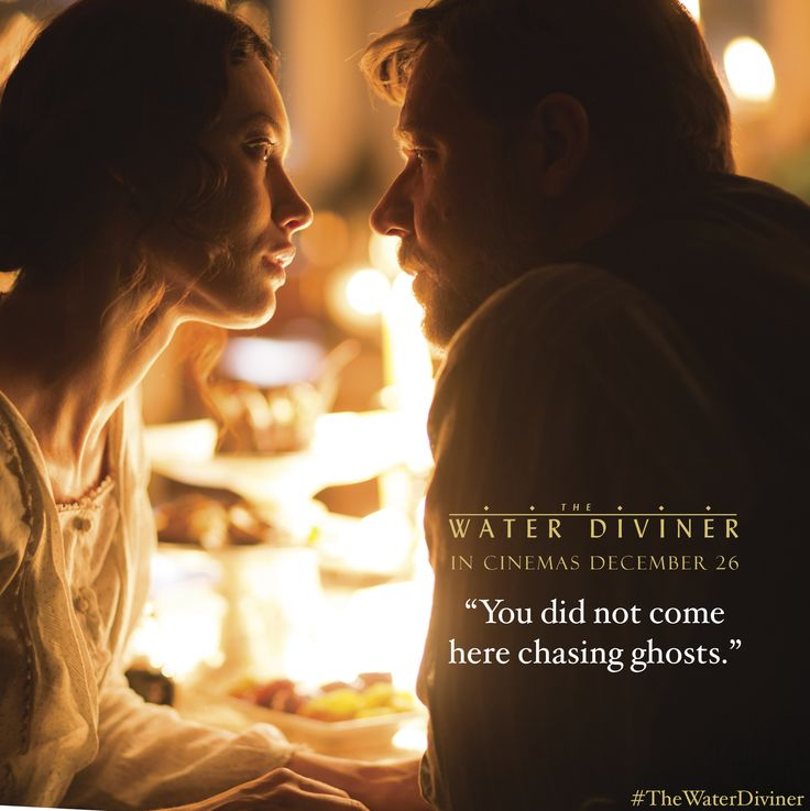 Olga Kurylenko and Russell Crowe in THE WATER DIVINER. Starring and directed by Russell Crowe, #TheWaterDiviner is an epic adventure set four years after the devastating battle of Gallipoli in Turkey during World War I. Australian farmer Connor (Crowe) travels to Istanbul to discover the fate of his sons, reported missing in the action.  eOne Facebook: https://www.facebook.com/eOneANZ  eOne Twitter: https://twitter.com/eOneANZ  eOne Instagram: http://instagram.com/eone_anz
