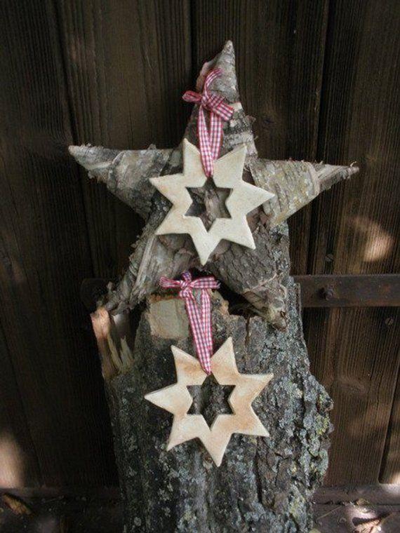 Keramikstern 2er Set Stern Weihnachten Keramik In 2019 Weihnachten Stern Weihnachten Und Weihnachtlich Topfern