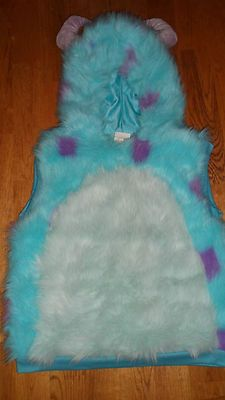 Disney Monsters Inc Sully Sulley Costume Sz 4 6 One Piece Super Cute   eBay