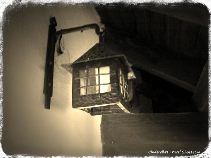 Typical lamp of Bran Castle