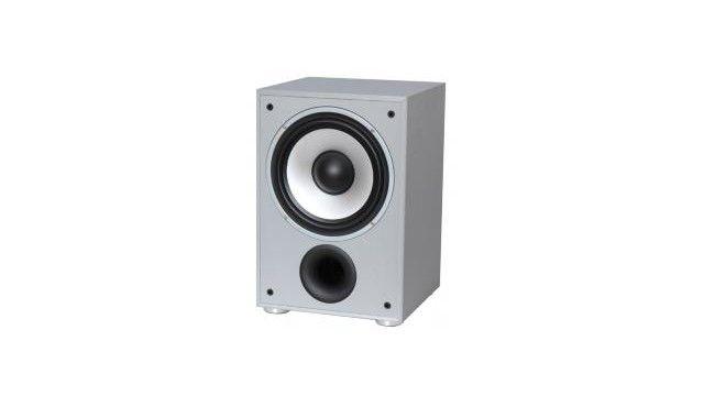 LTC SW100SI Actieve Subwoofer 100W Zilver  Excellente geluidskwaliteit met zuivere bassen Ingebouwde vermogensversterker Laag niveau stereo LINE in- en uitgangen Hoog niveau stereo luidspreker in- en uitgangen Fase controle Regelbare actief filter Woofer 25cm/10  Afneembare voorzijde Ook beschikbaar in zwarte hout afwerking (SW100BL) Specificaties Vermogen RMS/max. : 40/100W Impedantie : 4 ohm Frequentie bereik : 29-149dB (-3dB) S/B verhouding : 85 dB Voeding : AC 220-240V/50 Hz Afmetingen…