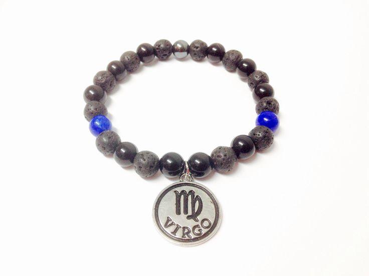 Virgo Bracelet - Virgo Zodiac Bracelet - Gemstone Bracelet - Virgo Gemstone Bracelet - Virgo Birthstone Bracelet - Virgo Star Sign Bracelet by OurUniverseShop on Etsy