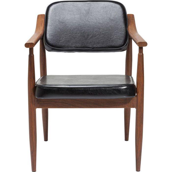 Chair with Armrest Karla Black - KARE Design