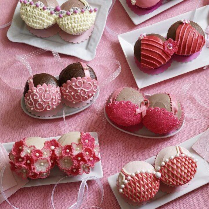 Cupcake Decorating Ideas For Breast Cancer