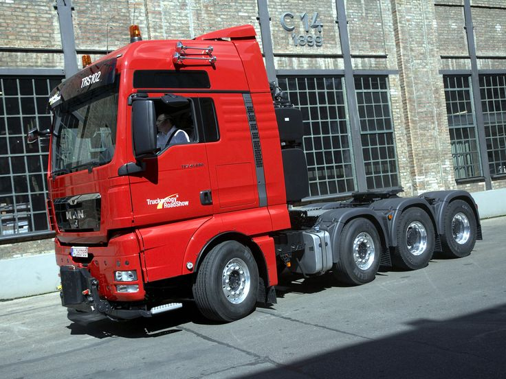 MAN TGX 41.680 8x4/4 BLS XXL '2007–н.в.