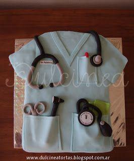 Torta chaqueta médico: Torta Chaqueta, Tasha S Favorites, Tortas Creativas, Chaqueta Médico