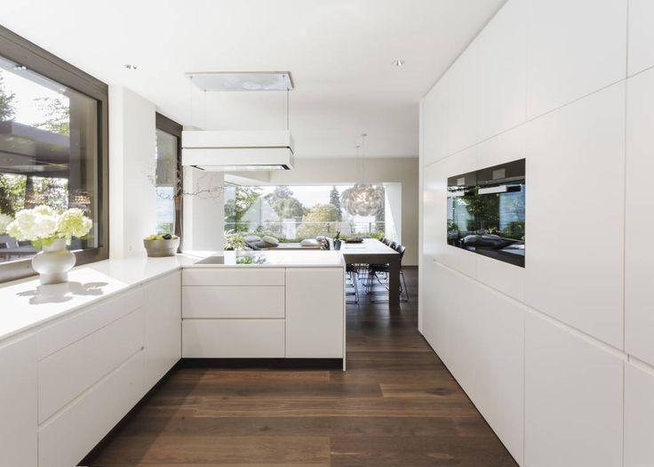 küchen halbinsel form ~ kreative bilder für zu hause design, Hause deko