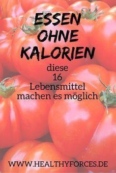 16 Lebensmittel ohne Kalorien zum Abnehmen – Melanie Terhorst