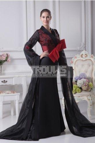 http://www.trouws.com/avondjurken-c25 prachtige v-hals lange zwarte avondjurken - €145.02 , Trouws.com