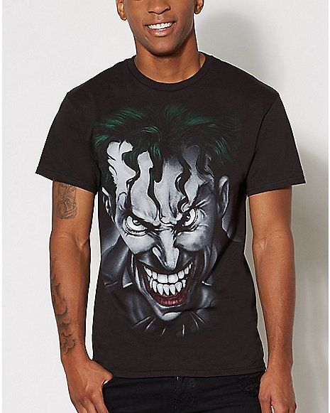 Airbrush Joker T Shirt - Spencer's