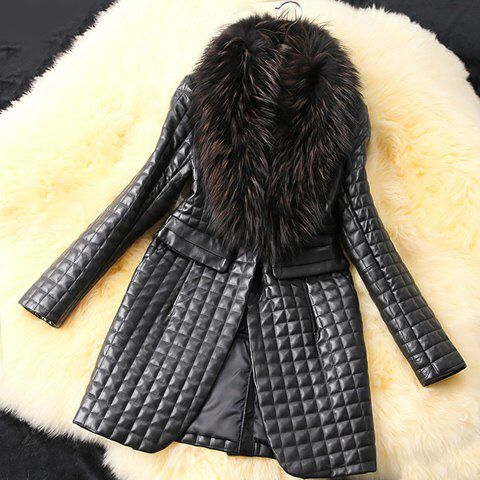 Stylish Fur Collar Coat £60.00 Available On Our Website www.kandiclothesboutique.com
