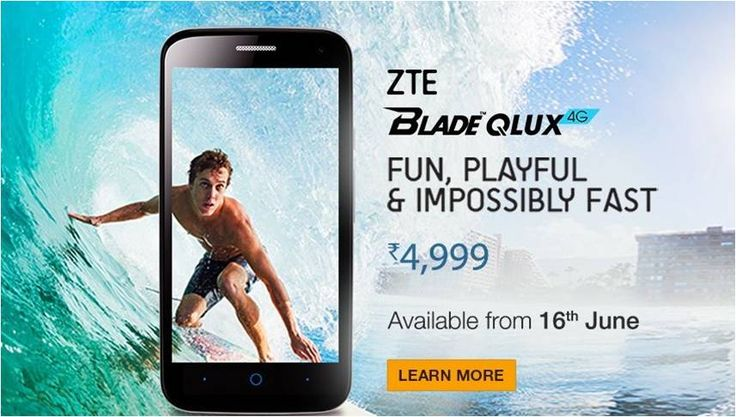 If you decide to buy this  amazingphone, buy ZTE #BladeQLUX 4G Mobile Phone  with a power-packed quad-core processor with 1613 RAM, Memory 8GB and expandable it up to 32 GB