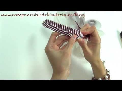 ▶ Pulsera de Kumihimo paso a paso - Abalorios Manualidades - YouTube