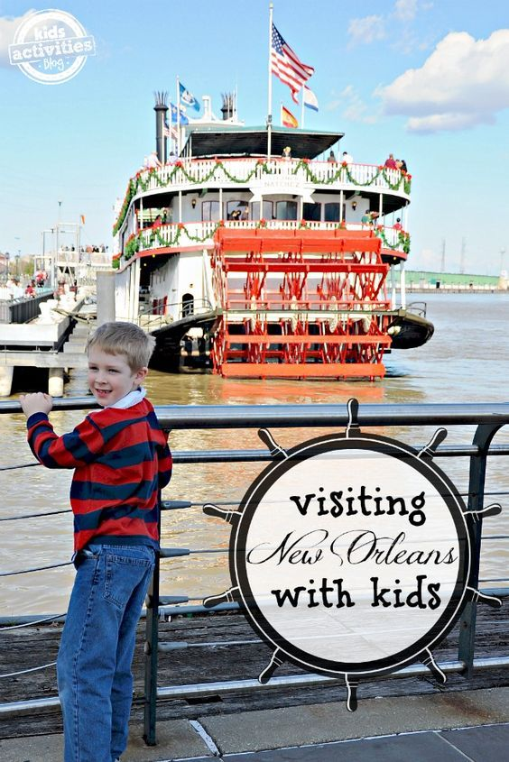 Great family vacation! 10 Things to Do with Kids in New Orleans, LA - It is amazing how many great activities for kids there are in New Orleans Louisiana!
