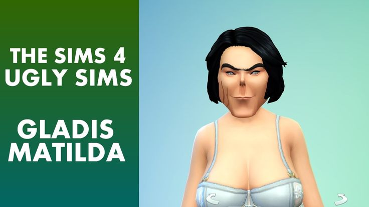 The Sims 4 - Ugly Sim Gladis Matilda
