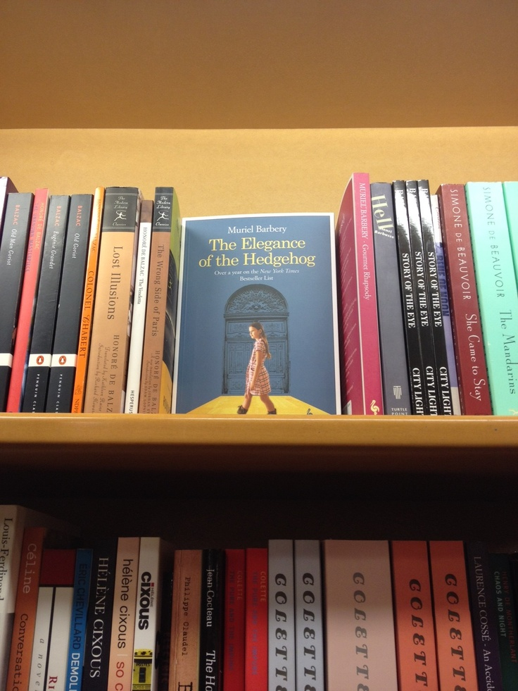 The Elegance of the Hedgehog/L'elegance du herisson by Muriel Barbery found at Idlewild Books