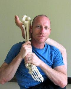 David Keil--Flexed or Extended Foot in Lotus