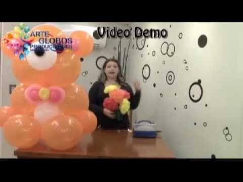 Curso de Globos Osito Cariñoso Parte II Balloons (+playlist)