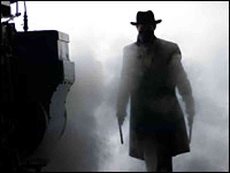 Outlaw Silhouette | hide caption Train to nowhere: The title of Brad Pitt's latest movie ...