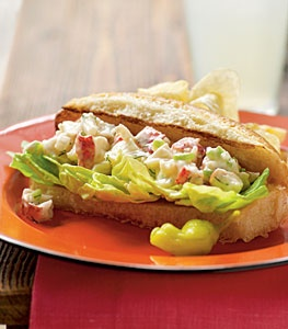 Lobster Rolls are so good, you need this recipe!!! Repin!!!!! |myrecipes.com
