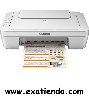 Ya disponible Multif. Canon mg2550    (por sólo 54.95 € IVA incluído):   -Tipo de dispositivo:Impresión, copia, escaneo -Tecnología: inyección de tinta con gotas de 2 picolitros (mín.) -IMPRESORA -Velocidad de impresión: *Negro:Aprox. 8,0 ipm *Color:Aprox. 4,0 ipm -Tipos de papel:A4, A5, B5, 10 x 15 cm, 13 x 18 cm, Sobres (DL, COM10), Carta, Legal -Capacidad de la bandeja posterior:60 hojas (papel normal) -Display:NO -ESCANER: -Resolución: 600 x 1200 ppp -FAX:NO -Co